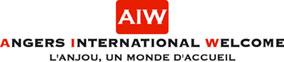 Logo ANGERS INTERNATIONAL WELCOME ' L'ANJOU, UN MONDE D'ACCUEIL