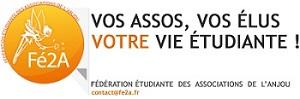 Logo FE2A - FEDERATION ETUDIANTE DES ASS. ANGEVINES