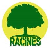 Logo RACINES 49 - RESEAU D'ASS. ET DE COLLECTIFS D'INFORMATION POUR UNE NATURE ET UN ENVIRONNEMENT SAUVEGARDES