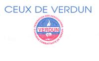 Logo CEUX DE VERDUN, LEURS DESCENDANTS ET LEURS AMIS