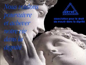 Logo DROIT DE MOURIR DANS LA DIGNITE - DELEGATION  D'ANGERS