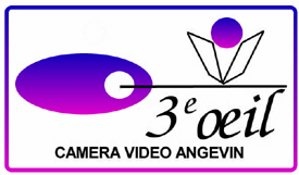 Logo 3EME OEIL CAMERA VIDEO ANGEVIN