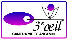 Logo 3EME OEIL CAMERA VIDEO ANGEVIN