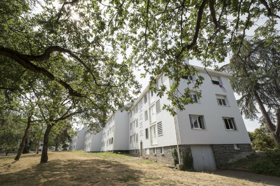 Avenue Notre-Dame-du-Lac, 200 logements ont été réhabilités.