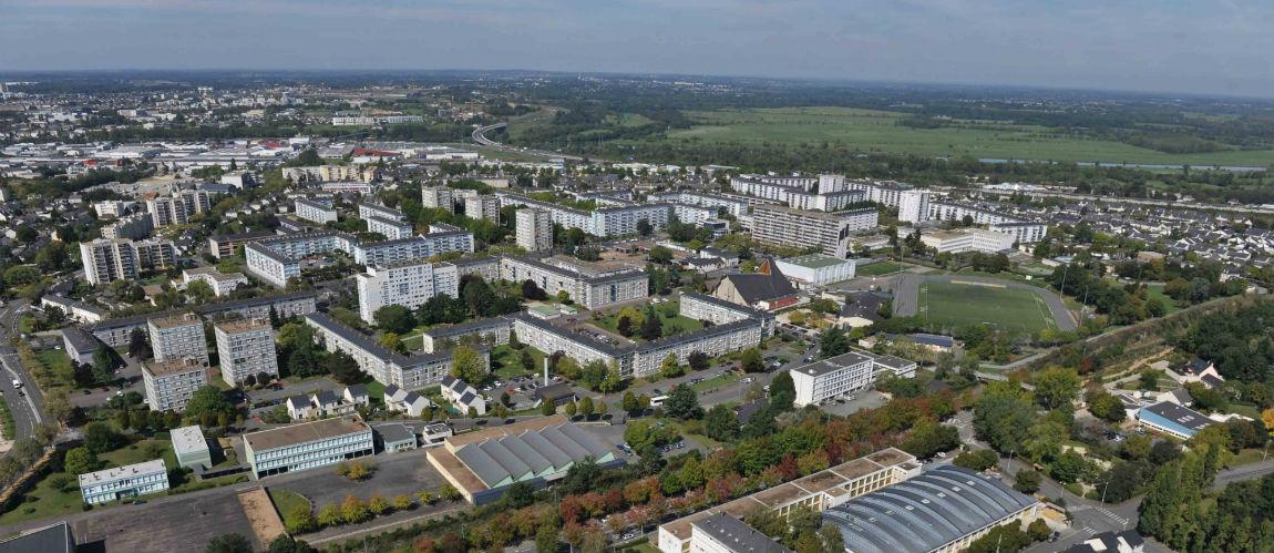 L'habitat constitue un volet essentiel du renouvellement urbain, économique et social du quartier.