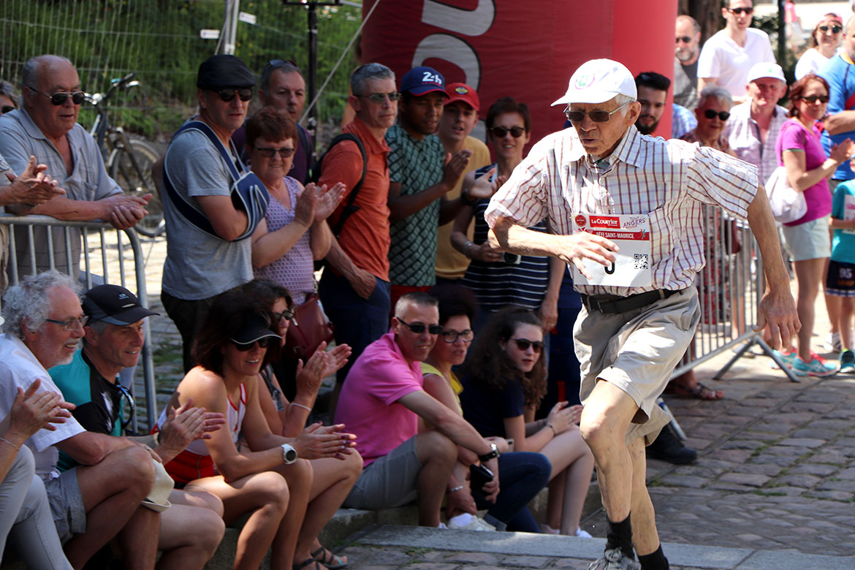 Il n'y a pas d'âge pour faire du sport. La preuve avec le doyen du défi Saint-Maurice, 85 ans.