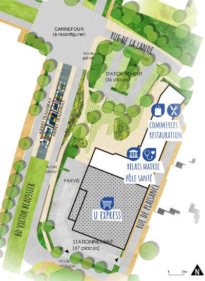 Le projet de restructuration du centre Beaussier.