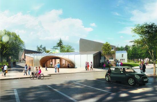 Le groupe scolaire réhabilité et agrandi sera livré en 2021.