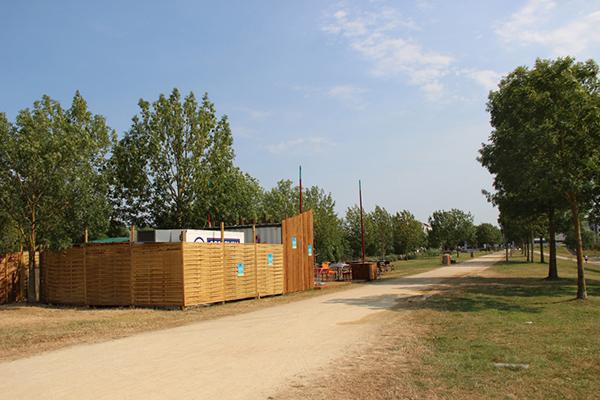 Travaux Promenade Yolande d'Aragon au parc balzac