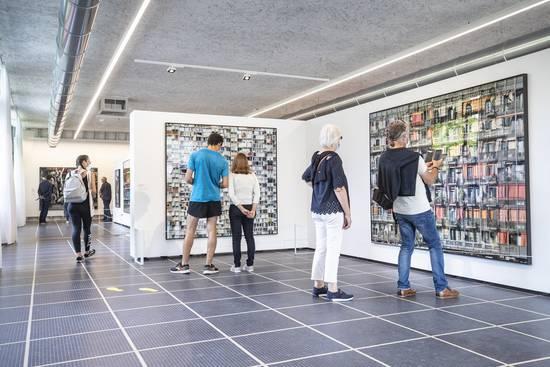 Photo de l'exposition Couturier, au Repaire urbain.