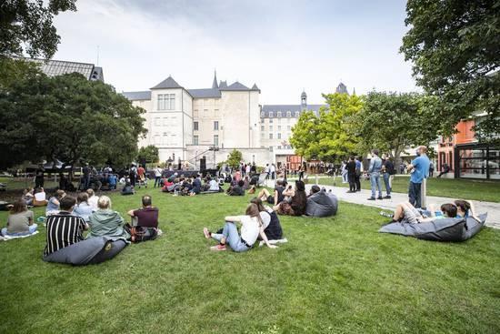 Photo de Concert au jardin des beaux-arts.