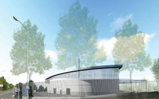 La future chaufferie urbaine prendra place aux abords du site Scania.