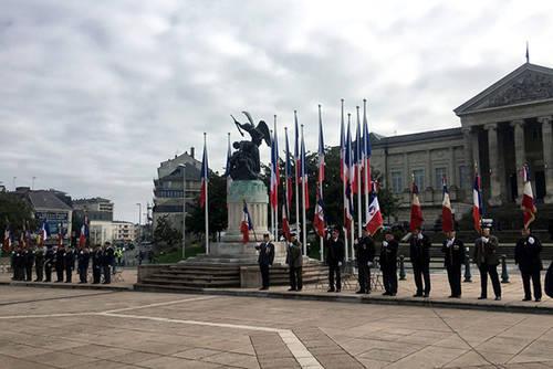 Commémoration place Leclerc