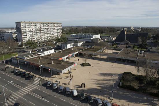 La démolition de la barre de l'Europe et du porche Lyautey, en 2020, permettront de réorganiser la place.