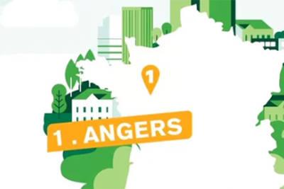 Angers, 1ere ville verte !
