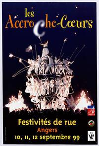 Affiche des Accroche-coeurs 1999