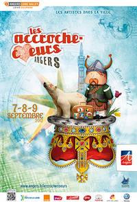 Affiche des Accroche-coeurs 2012