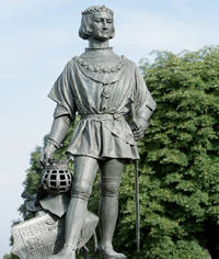 Photo du bronze du roi René