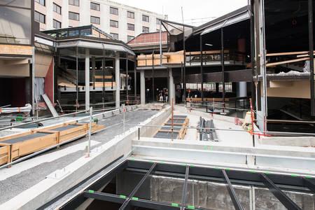 Vue sur la future terrasse qui pourra accueillir des événements.  (Photo: Jean-Patrice Campion, Ville d'Angers)