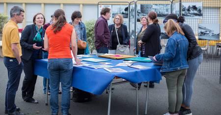 Moment d'échange et de partage autour des activités réalisées par le collège Jean-Lurçat