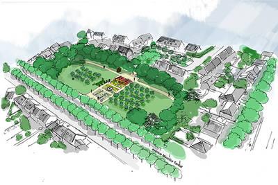 De l'agriculture urbaine au jardin de la Roseraie
