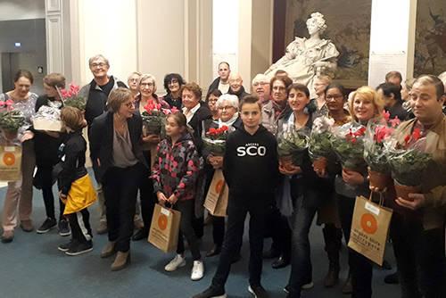 Photo des lauréats du concours 2019, lors de la remise des prix mercredi 6 novembre.