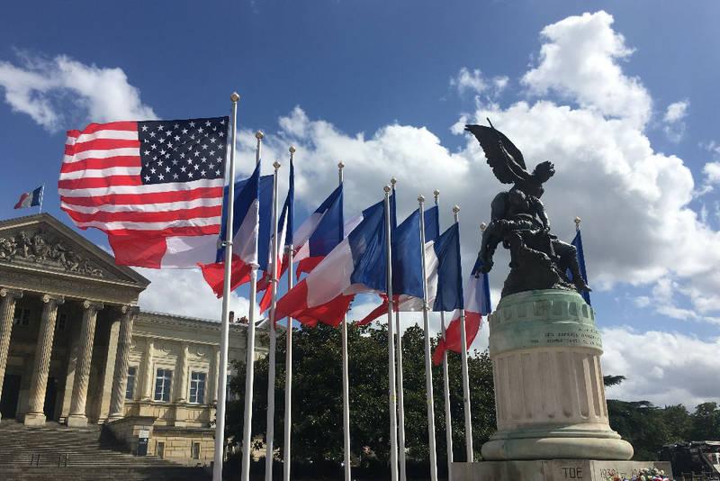 Commémoration de la libération d'Angers