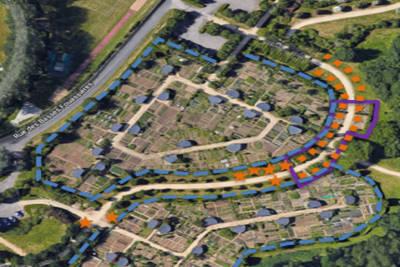 Parc Balzac, programme de plantation sur 5 ans
