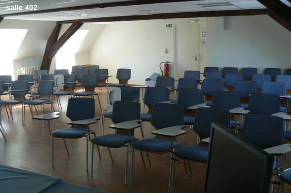 Présentation des salles à louer de l'institut municipal