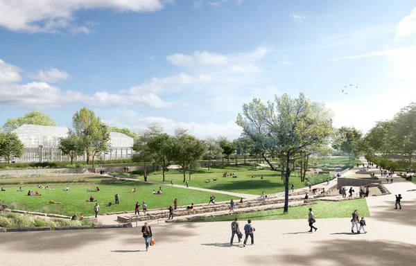 Le projet de grand parc.