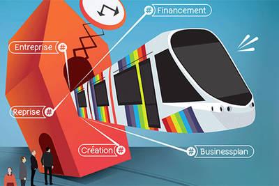 Tramway de la création d'entreprise, le 6 juin