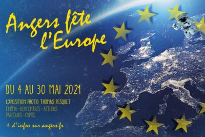 Du 4 au 30 mai, Angers fête l'Europe