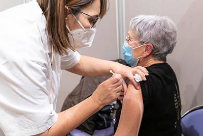 Un nouveau centre de vaccination ouvre au parc des expositions d'Angers lundi 12 avril
