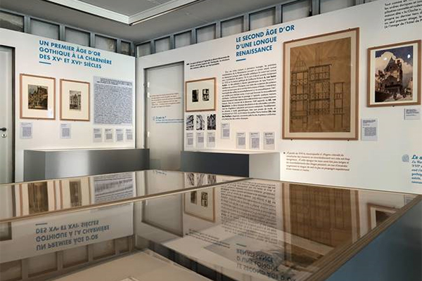 L'architecture en pan de bois: nouvel accrochage au RU