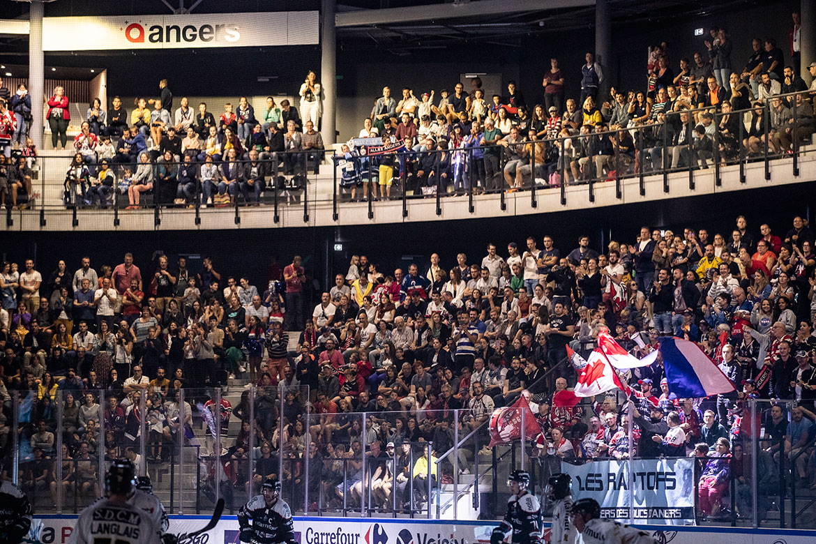 Match d'inauguration, Angers Iceparc.