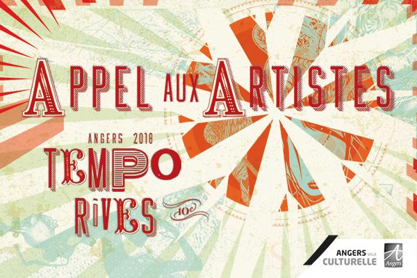 Tempo Rives: l'appel aux artistes est lancé