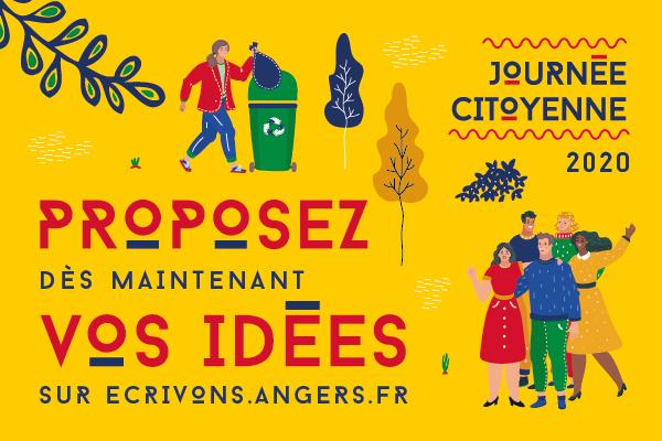 L'appel à idées de la Journée citoyenne 2020 est lancé