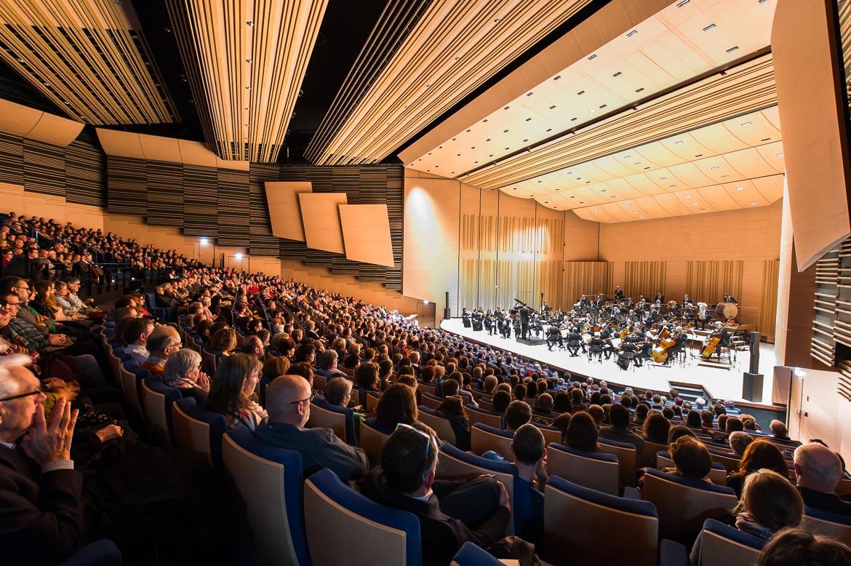 Concert gratuit de l'ONPL, pour l'inauguration de l'auditorium entièrement réaménagé.
