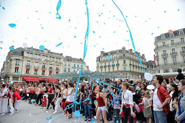 Carnaval 2011 dans le centre-ville