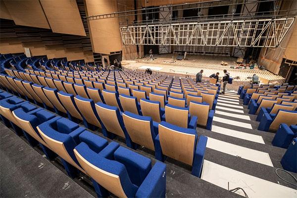 Le centre de congrès Jean-Monnier rouvre ses portes