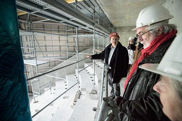 A l'Istom, le chantier avance à grands pas