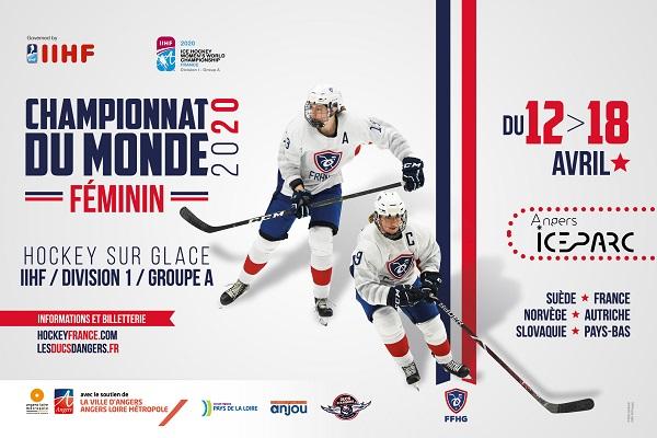La billetterie est ouverte pour les championnats du monde de hockey féminin