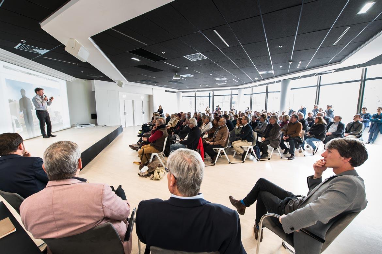 Conférence de Frédéric Rolland, architecte de la rénovation.