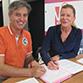 La Ville signe une convention avec les Vitrines d'Angers