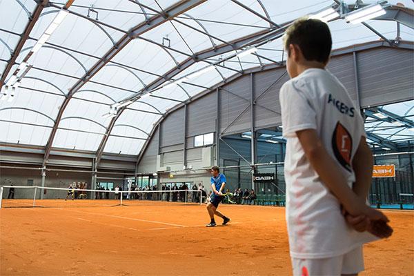 Court Central: l'équipement phare du nouveau parc des sports de La Baumette