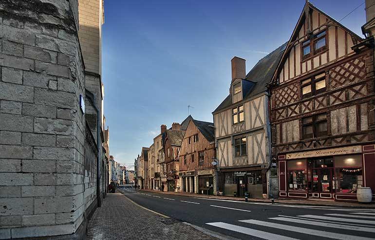 Photo d'illustration présentant une vue sur le quartier de la Doutre.