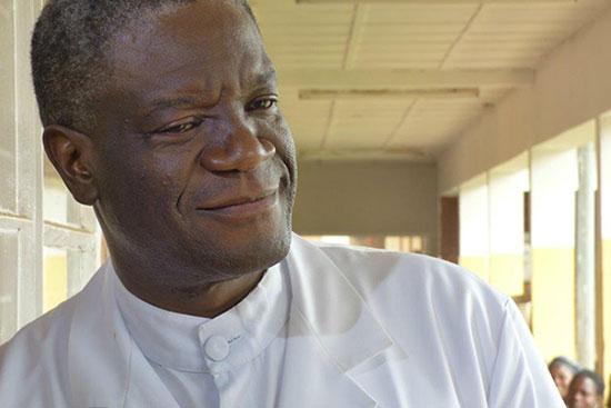 Portrait du professeur Denis Mukwege.