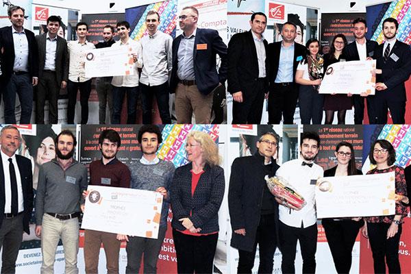 Le campus angevin triomphe aux Entrepreneuriales
