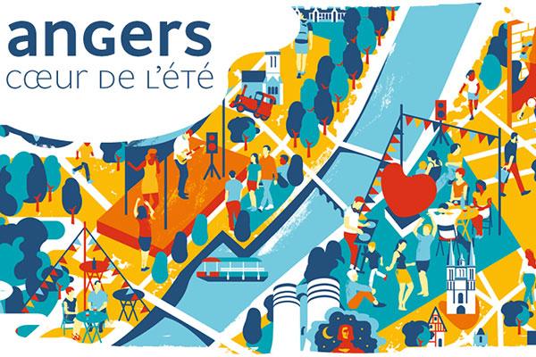 Angers Cœur de l'été