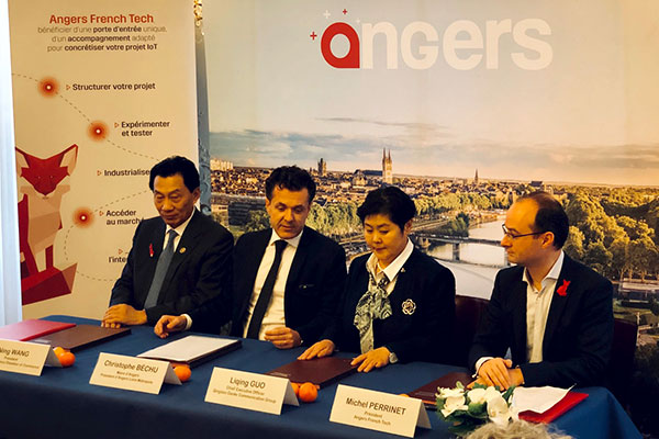 Angers French Tech et l'écosystème Tech de Chine vont plus loin